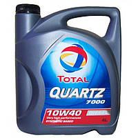 Масло полусинтетическое дизельное Total Quartz 7000 10W-40 Dizel