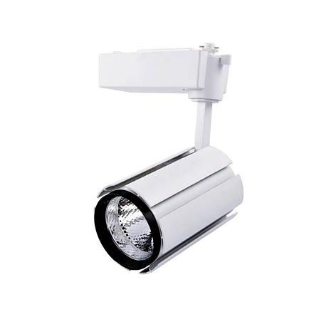 Светодиодный светильник  трековый LEDSTAR Белый металл 25Вт 6500K (103017), фото 2