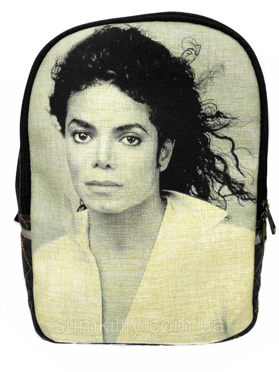 Джинсовый рюкзак Майкл Джексон 9