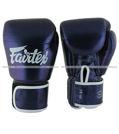 Боксерские перчатки Fairtex BGV12 Aura Muay Thai Boxing Gloves, фото 2