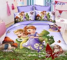Детский комплект постельного белья Принцесса София ТМ TAG ранфорс хлопок 160х220