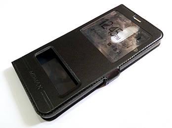Чехол книжка с окошками momax для Huawei Mate 10 Lite / Nova 2i черный