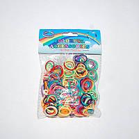 Резиночки для плетения Rainbow Loom 300 шт. (разноцветные)