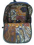 Джинсовий рюкзак Бегемотик, фото 4