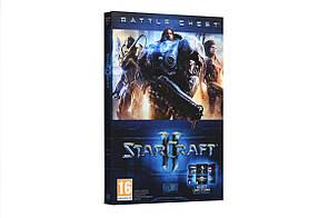Диск с игрой Starcraft 2 Battlechest для PC