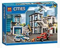 Конструктор Bela Cities 10660 Полицейский участок, 936 дет., копия Lego City, фото 1