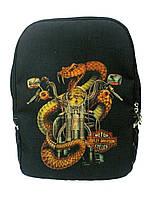 Джинсовый рюкзак Мототема 2