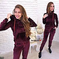 Женский бархатный костюм (расцветки), фото 1