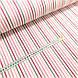 Ткань поплин полоска мелкая серо-розовая (ТУРЦИЯ шир. 2,4 м), фото 2
