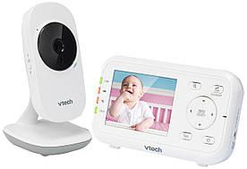 """Відеоняня одностороння з датчиком температури та кольоровим екраном """"2,8 (цифрова)"""" """"Vtech"""" VM3252"""