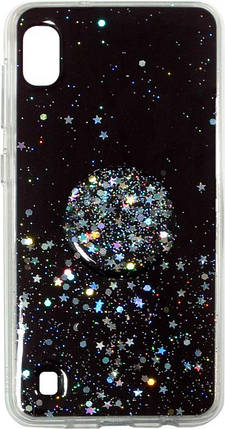 Накладка SA A105 Shine Stars+ Popsocet, фото 2