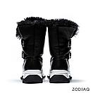 Ботинки женские зимние кожаные натуральный мех b8978-2s, фото 5
