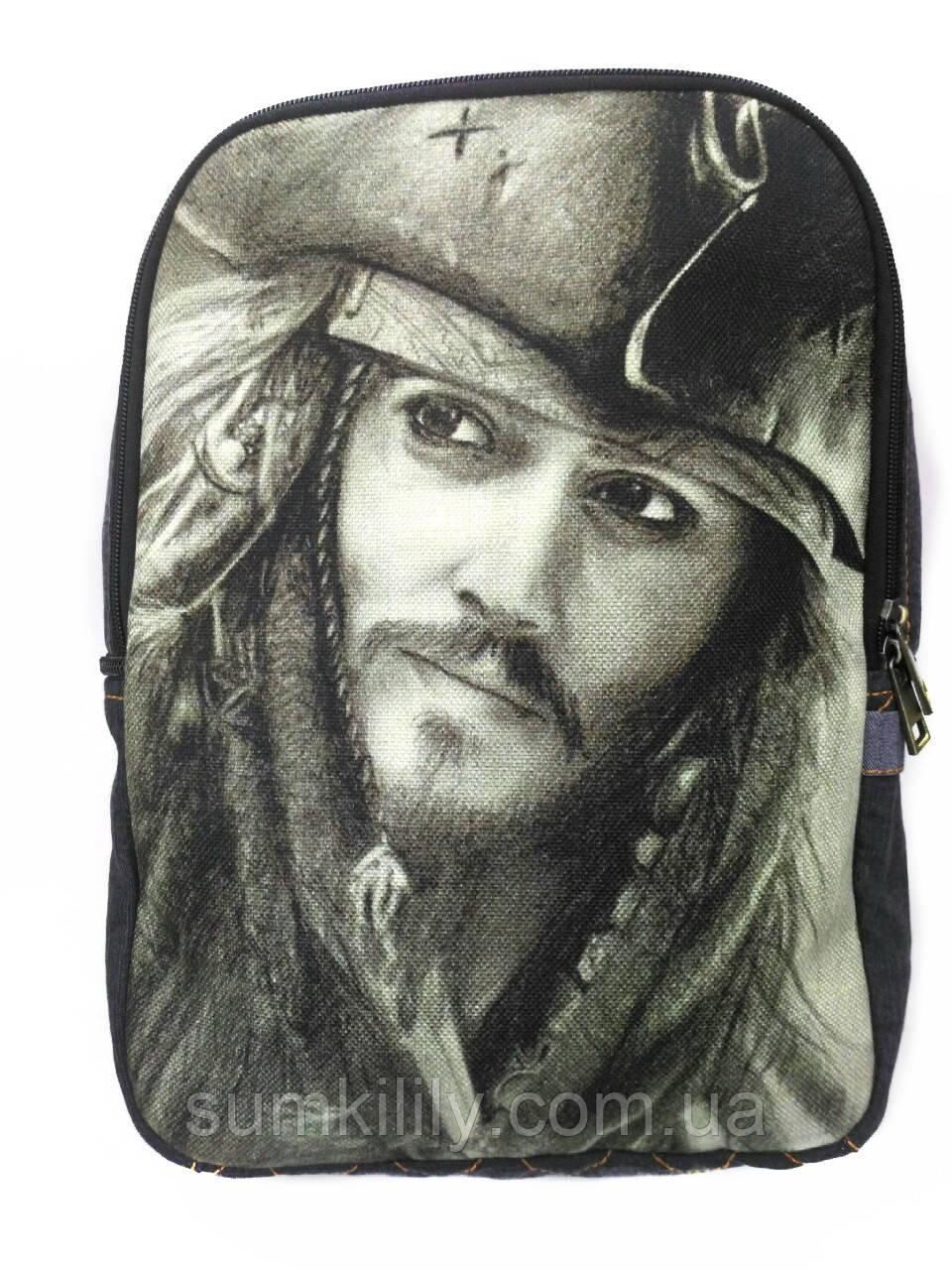 Джинсовый рюкзак Джек