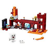 """Конструктор Minecraft Bela 10393 """"Подземная крепость"""" (аналог Lego 21122 Майнкрафт), 562 детали, фото 2"""