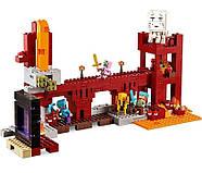 """Конструктор Minecraft Bela 10393 """"Подземная крепость"""" (аналог Lego 21122 Майнкрафт), 562 детали, фото 3"""