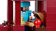 """Конструктор Minecraft Bela 10393 """"Подземная крепость"""" (аналог Lego 21122 Майнкрафт), 562 детали, фото 4"""