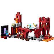 """Конструктор Minecraft Bela 10393 """"Подземная крепость"""" (аналог Lego 21122 Майнкрафт), 562 детали, фото 5"""