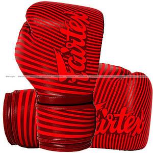 Боксерские перчатки Fairtex BGV14 Minimalism Art Red