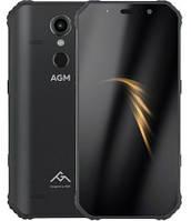"Смартфон AGM A9 4/32Gb Black, 12/16 Мп, 5.99"" IPS, Snapdragon 450, IP68, 5400 маг, 4G"