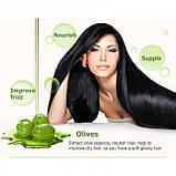 Шампунь для волос с оливковым маслом Bioaqua, восстанавливающий, 400 мл, фото 4