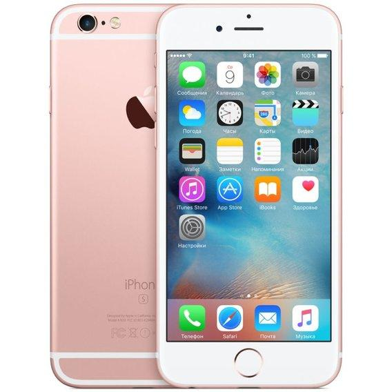 Refurbished  iPhone 6s 64 Gb Rose Gold Полный комплект