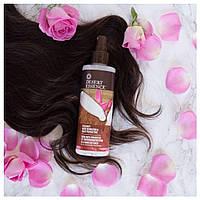 Desert Essence, Кокосовое средство для распрямления волос и защита от перегрева, 8.5 жидких унций (237 мл)