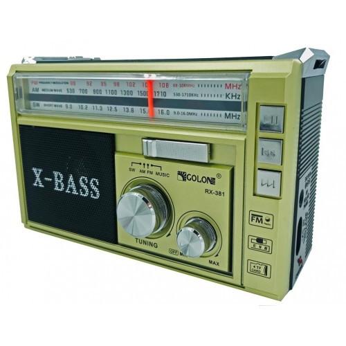 Радиоприемник GOLON RX-381 c USB/SD функцией