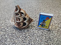 С503 Керамическая декорация для аквариума Кораблик мини