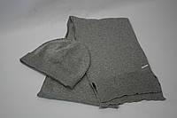 Набор шапка+шарф мужской DIESEL цвет серый размер Универсальный арт 00AMA8RJA0I912