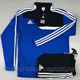 Костюм тренировочный Adidas Tiro 13 сине-черный