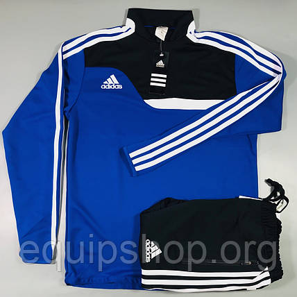 Костюм тренировочный Adidas Tiro 13 сине-черный, фото 2