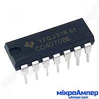 Логічна мікросхема CD4070BE
