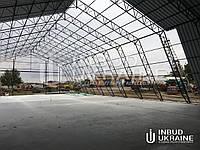 Компанія Інбуд Україна пропонує послуги по будівництву Ангарів, Складів, Зерносховищ, Промислових будівель.