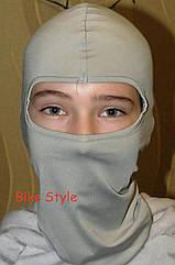 Подшлемник BS classic светло серый