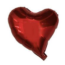 Шар фольгированный сердце Красное 1604