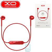 Bluetooth наушники с микрофоном XO BS8 красные