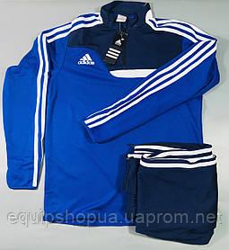 Костюм тренировочный Adidas Tiro 13 сине-темно/синий