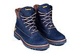 Мужские зимние кожаные ботинки Timderland Crazy Shoes Laguna, фото 2