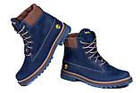 Мужские зимние кожаные ботинки Timderland Crazy Shoes Laguna, фото 3