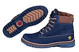 Мужские зимние кожаные ботинки Timderland Crazy Shoes Laguna, фото 5