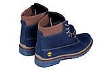 Мужские зимние кожаные ботинки Timderland Crazy Shoes Laguna, фото 6