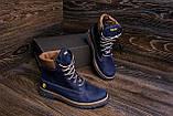 Мужские зимние кожаные ботинки Timderland Crazy Shoes Laguna, фото 7