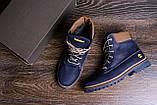 Мужские зимние кожаные ботинки Timderland Crazy Shoes Laguna, фото 10