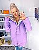"""Двухсторонняя стильная удлиненная женская курточка """"Star"""", фото 4"""