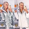 """Двухсторонняя стильная удлиненная женская курточка """"Star"""", фото 6"""