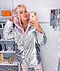 """Двухсторонняя стильная удлиненная женская курточка """"Star"""", фото 8"""