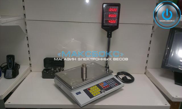ВТА 60/15-5D-АC–Торговые весы до 15 кг с подключением к компьютеру