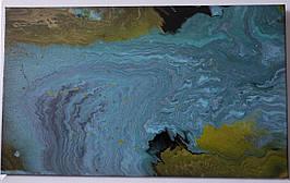 """Fluid Art абстрактная картина """"Переход"""""""