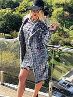 Женский костюм платье +пальто 190(040)