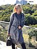 Женский костюм платье +пальто 190(040), фото 6